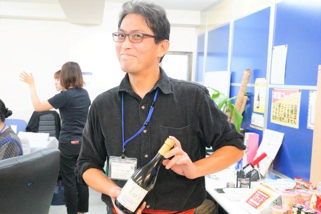 笑顔の田口さん